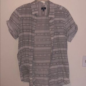 George Tribal Button Down Shirt